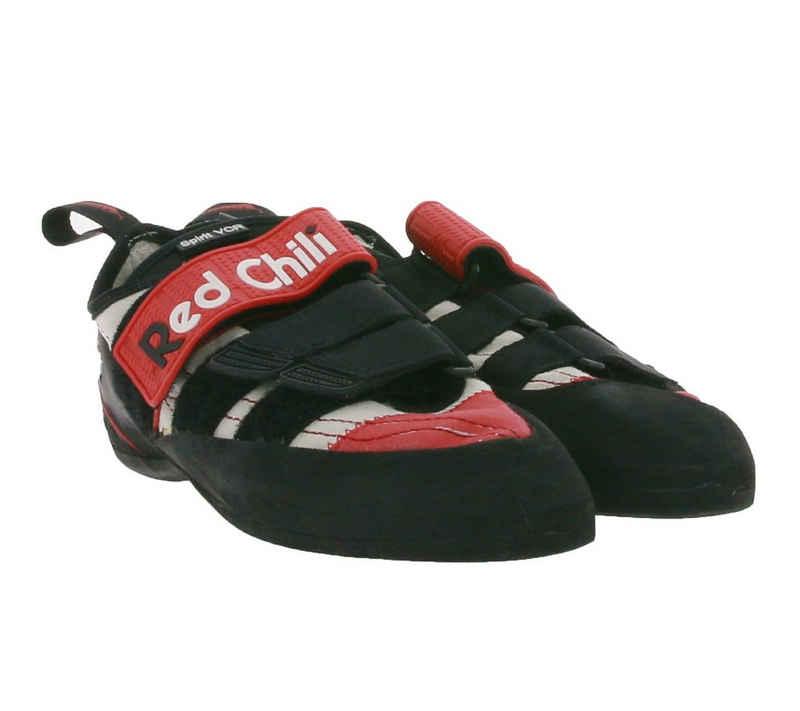 Red Chili »RED CHILI Spirit VCR Kletter-Schuhe optimale Komfortkletterschuhe für Damen Boulder-Schuhe Schwarz/Rot« Kletterschuh