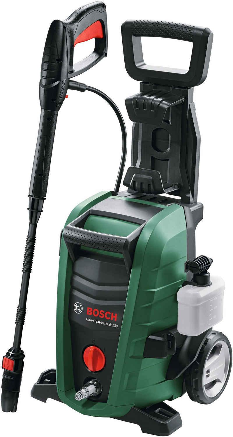Bosch Powertools Hochdruckreiniger »UniversalAquatak 130«, Druck max: 130 bar, 1700 W, Fördermenge max: 380 l/h, mit umfangreichem Zubehör