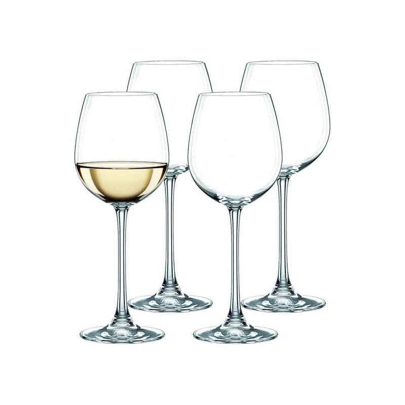 Nachtmann Weißweinglas »Vivendi Weißweinkelch 4er Set«, Kristallglas