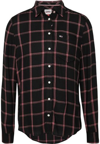 Tommy Jeans Tommy Džinsai Marškiniai »TJW FLUID CH...