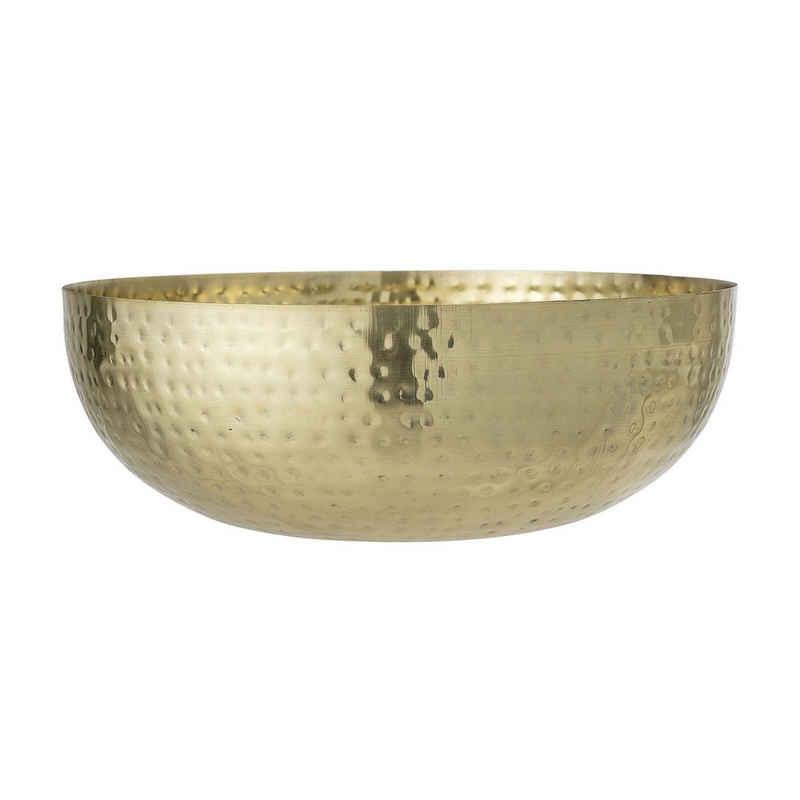 Bloomingville Schale »Bloomingville Schale METTEMARIE Gold 36 cm«