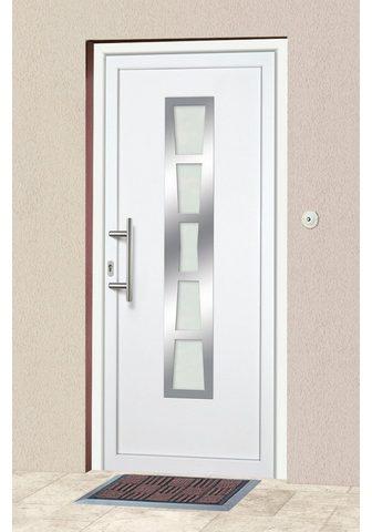 KM Zaun Haustür »K640« BxH: 98x208 cm weiß in ...