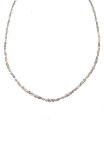 Firetti Collier »Filigran, schimmernd, 3 mm breit«, mit Diamantsplitter, Made in Germany