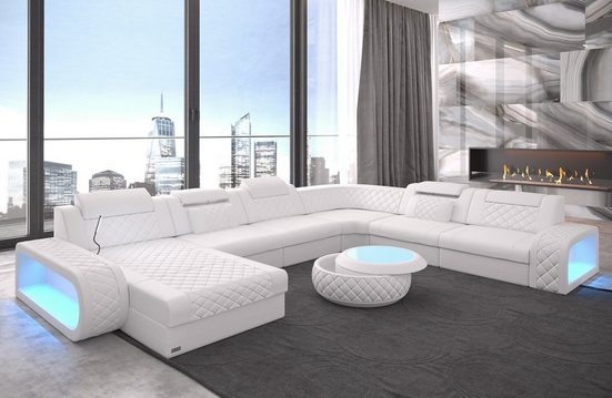 Sofa Dreams Sofa »Berlin«, U Form XXL