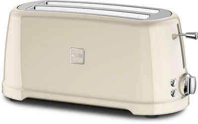 NOVIS Toaster 6116.09.20 Iconic Line - T4 creme, 2 lange Schlitze, 1600 W