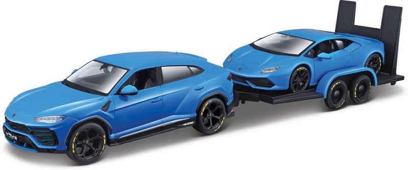 Maisto® Sammlerauto »Elite Transporter Lamborghini Urus«, Maßstab 1:24, mit Anhänger und Huracàn Coupè