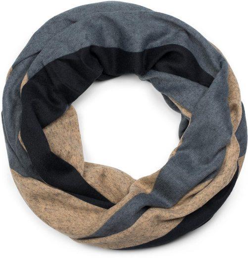 styleBREAKER Loop »Feinstrick Loop mit Wellen Muster« Feinstrick Loop mit Wellen Muster