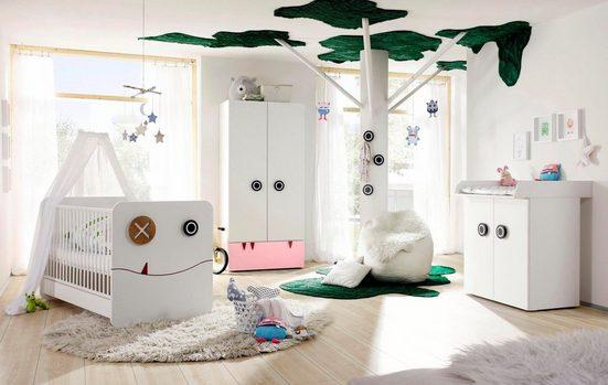 now! by hülsta Babyzimmer-Komplettset »now! minimo«, (Set, 5-tlg)