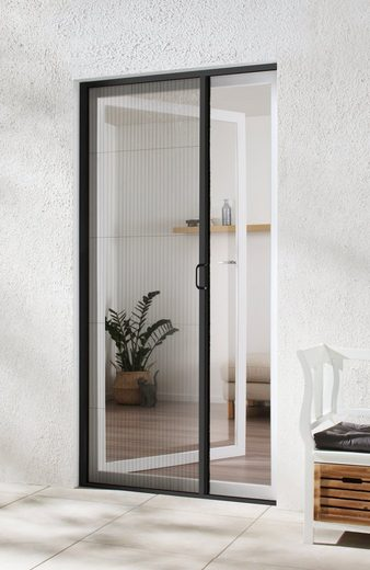 hecht international Insektenschutz-Tür, anthrazit/anthrazit, BxH: 125x220 cm