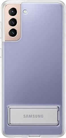 Samsung Backcover »Clear Standing Cover EF-JG996- Galaxy S21+« Samsung Galaxy S21+ 5G 17 cm (6,7 Zoll)