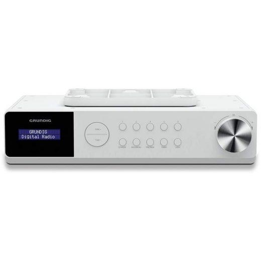 Grundig »DKR 1000 BT DAB+ Radio Weiss Linie« Küchen-Radio (DAB+, FM)