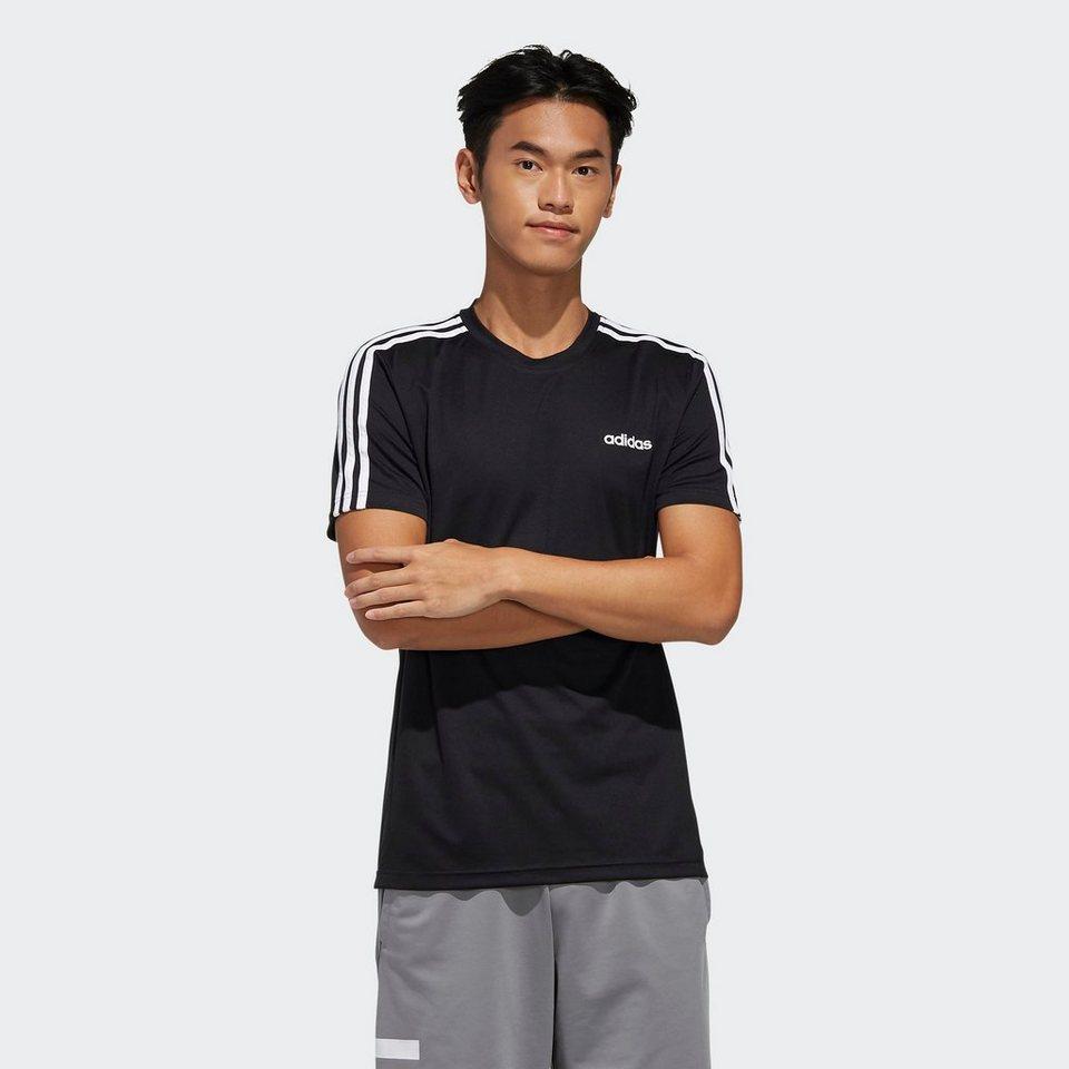 adidas Performance T Shirt »DESIGN 20 MOVE 20 STREIFEN« online kaufen   OTTO