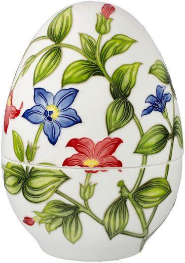 Goebel Osterei »Bunte Blumenpracht« (1 Stück), Ei-Dose aus Porzellan