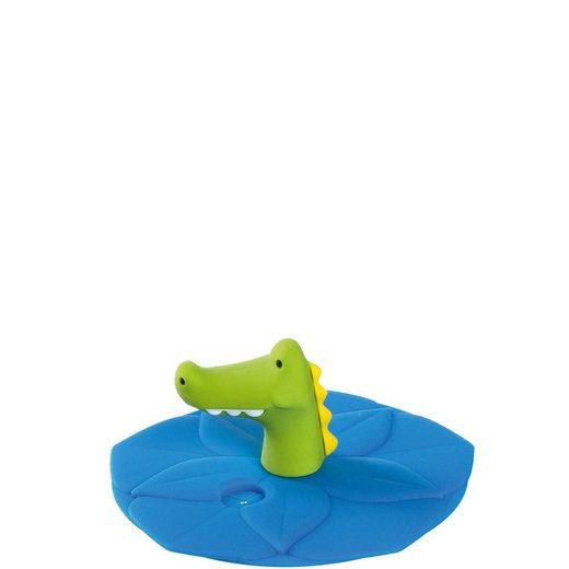 LEONARDO Kinderbecher »BAMBINI Kindertrinkglas Deckel Motiv Krokodi« (1-tlg)