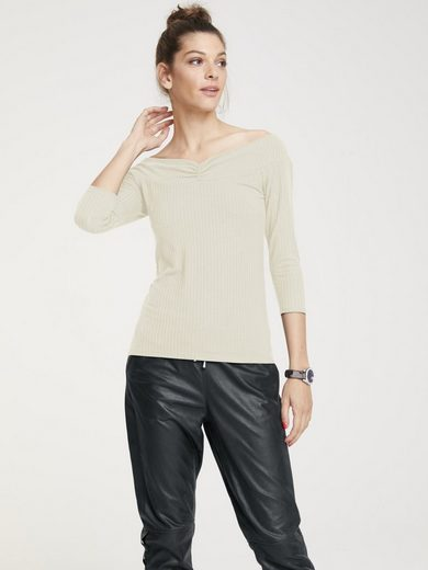 ASHLEY BROOKE by Heine Shirt mit Carmen-Ausschnitt