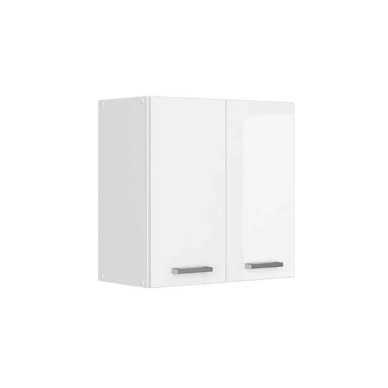 Vicco Hängeschrank »60 cm Küchenschrank Küchenzeile Küchenunterschrank R-Line Weiß Hochglanz«