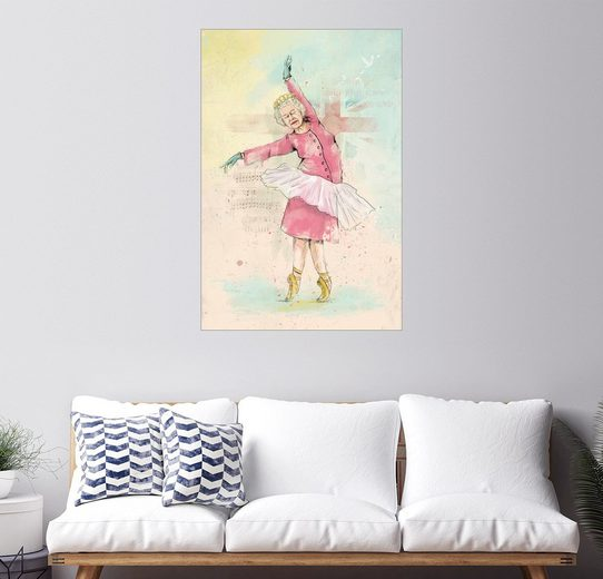 Posterlounge Wandbild, Premium-Poster Dancing queen