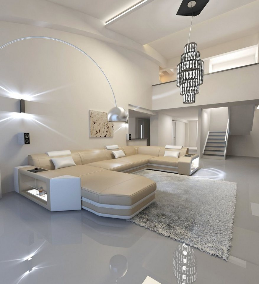 Sofa Dreams Sofa »Presto«, U Form, Hochwertige ...