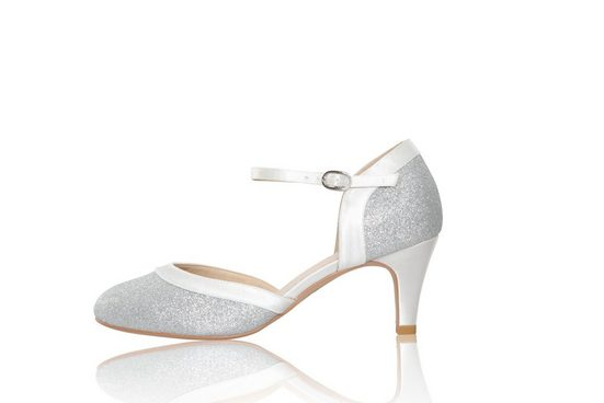 The perfect bridal company »Brautschuhe Anna Silver Shimmer, Wide Fit« Pumps