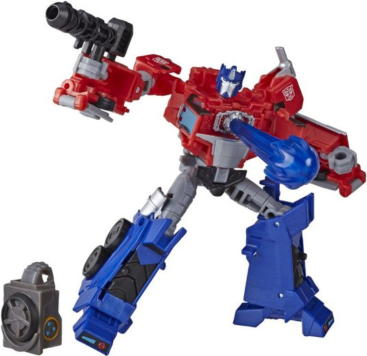 Hasbro Actionfigur »Transformers Cyberverse Deluxe-Klasse - Optimus Prime«