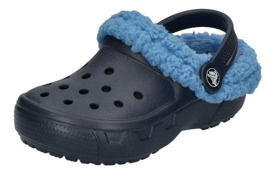 Crocs »Mammoth Evo Kids mit Fell« Clog Navy/Varsity Blue
