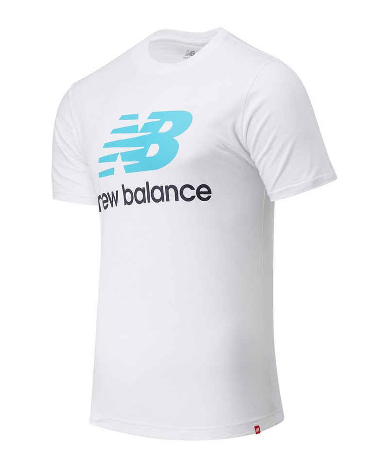 New Balance T-Shirt »Essentials Stacked Logo T-Shirt« default