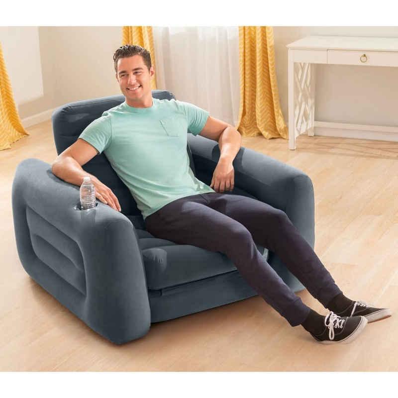 Intex Sessel »Intex Ausziehbarer Sessel 117x224x66 cm Dunkelgrau«