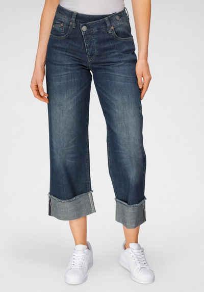 Herrlicher High-waist-Jeans »MÄZE« im Crossover-Look