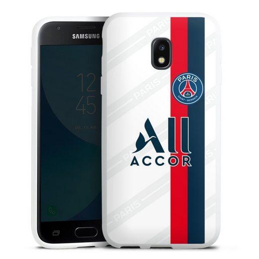 DeinDesign Handyhülle »Third Jersey PSG 2019/20« Samsung Galaxy J3 Duos (2017), Hülle Paris Saint-Germain Trikot PSG