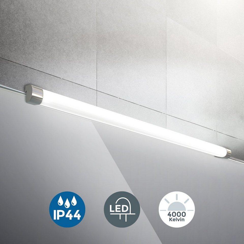 B.K.Licht Spiegelleuchte, LED Bad Wand-Leuchte Spiegel ...