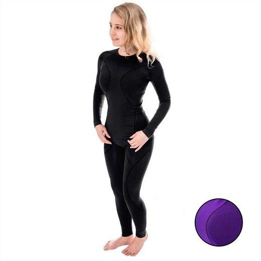 Black Snake Funktionsunterhemd »cobra« (1 Stück), Damen Funktionsunterwäsche Set Seamless Unterhemd + Unterhose