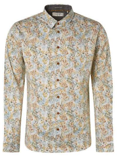 NO EXCESS Langarmhemd »Shirt, digital fancy«