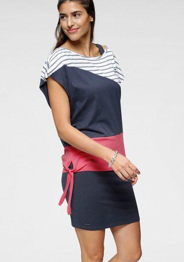KangaROOS 2-in-1-Kleid (2-tlg) in sommerlicher zweiteiliger Kombination Kleid und Shirt