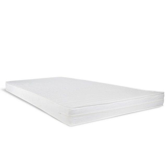 Matratzen und Lattenroste - Kindermatratze, Homestyle4u, 12 cm hoch, Raumgewicht 25, 90x200 cm Rollmatratze Schaumstoff Weiß  - Onlineshop OTTO