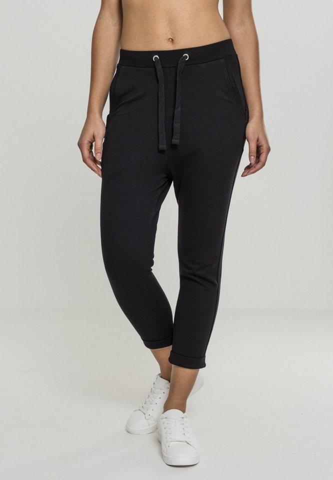 urban classics -  5-Pocket-Hose »Ladies Open Edge Terry Turn Up Pants«