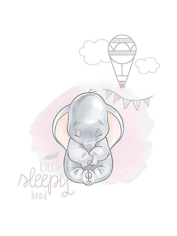 Komar Poster »Dumbo Sleepy«, Disney, Höhe: 70cm
