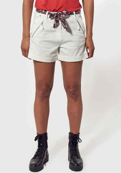 Kaporal Hotpants »TEXE« (2-tlg., mit Bindegürtel) kurze Hose mit stylischem Schleifengürtel