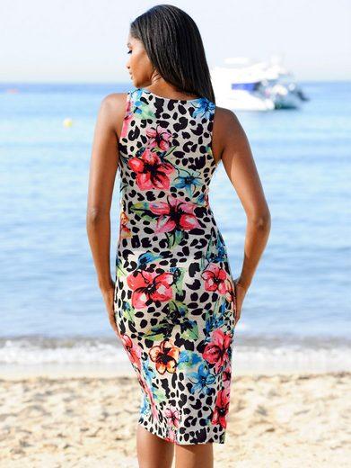 Alba Moda Strandkleid mit Ziersteinen