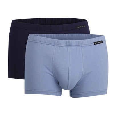 bugatti Boxer »Herren Shorts, 2er Pack - FLEXCITY, Boxer Briefs,«