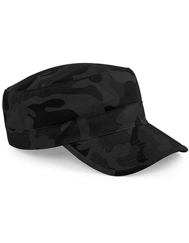 Beechfield® Army Cap »Camouflage Cuba Kappe« Gebogener Schirm