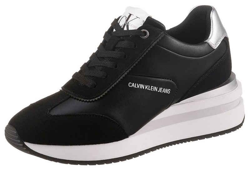 Calvin Klein »WEDGE SNEAKER LACEUP« Wedgesneaker mit Keilabsatz