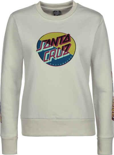 Santa Cruz Sweatshirt »Dot Blocker Crew W«