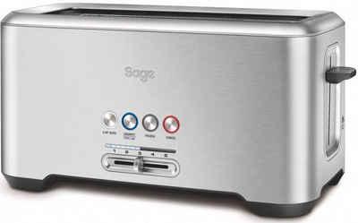 Sage Toaster the Bit More, STA730BSS, 4 lange Schlitze, 1800 W