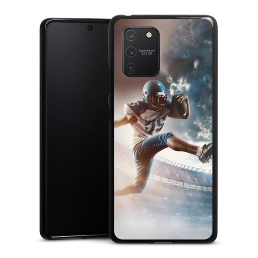 DeinDesign Handyhülle »Football action« Samsung Galaxy S10 Lite, Hülle American Football Fußballer Sport
