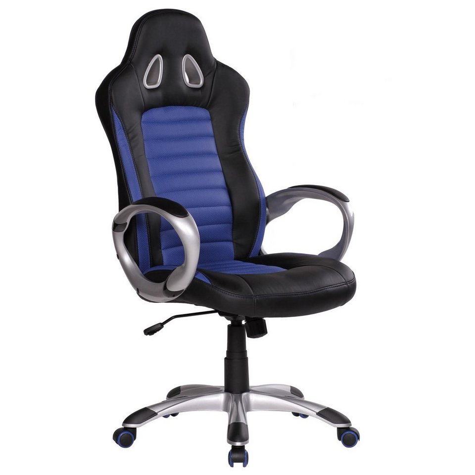 FINEBUY Gaming Stuhl SuVa1210 1 Bürostuhl RACING Gaming