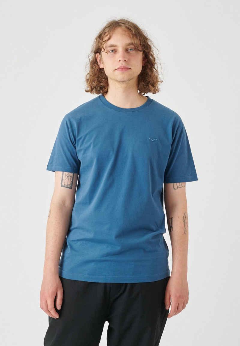 Cleptomanicx T-Shirt »Ligull Regular« mit kleiner Logo-Stickerei