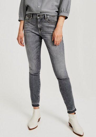 OPUS Stretch-Jeans »Elma« mit Used-Effekten und Waschungen