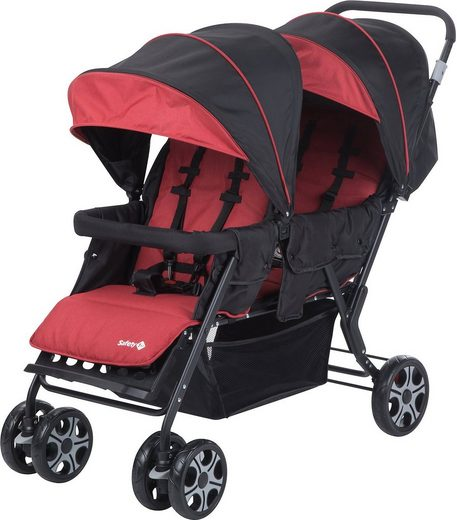 Safety 1st Geschwisterwagen »Zwillingswagen Teamy, Red Chic«