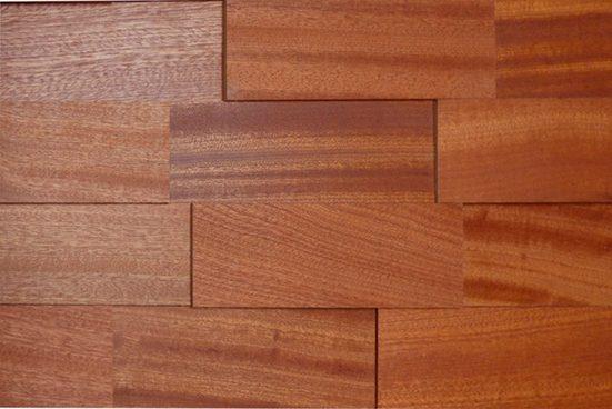 WODEWA Set: Verkleidungspaneel »Wodewa 200 - Mahagoni«, 3D-Effekt, 1 m²