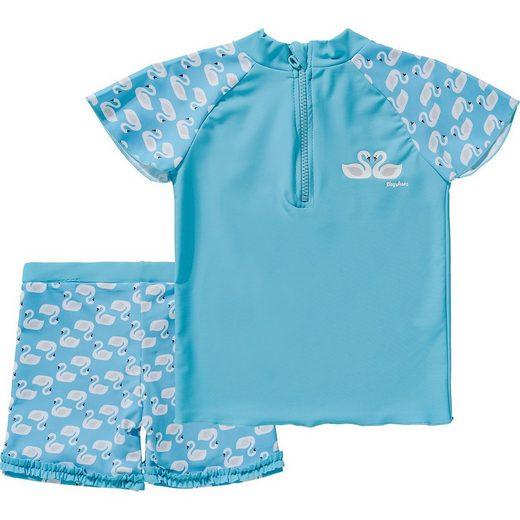 Playshoes Badeanzug »UV-Schutz 50+ Badeset HERZCHEN für Mädchen«